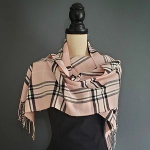 Super Soft Plaid Flannel Scarf